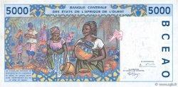 5000 Francs SÉNÉGAL  1994 P.713Kc pr.NEUF
