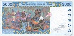5000 Francs SÉNÉGAL  1999 P.713Ki pr.NEUF