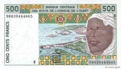 500 Francs GUINÉE  1998 P.910Sc NEUF