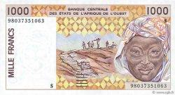1000 Francs GUINÉE BISSAU  1998 P.911Sb
