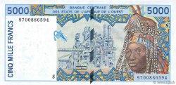 5000 Francs GUINÉE  1997 P.913Sa pr.NEUF