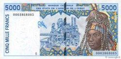 5000 Francs GUINÉE  2000 P.913Se SUP+