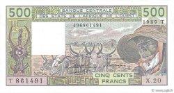 500 Francs TOGO  1989 P.806Tk NEUF