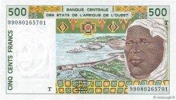 500 Francs TOGO  1999 P.810Tj NEUF