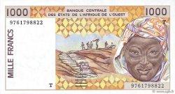 1000 Francs TOGO  1997 P.811Tg NEUF