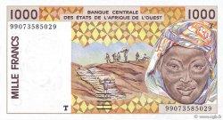 1000 Francs TOGO  1999 P.811Ti NEUF