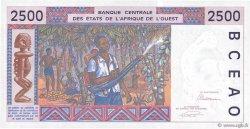 2500 Francs TOGO  1993 P.812Tb pr.NEUF