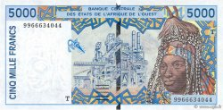 5000 Francs TOGO  1999 P.813Th pr.NEUF