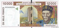 10000 Francs WEST AFRICAN STATES  1999 P.814Th aUNC