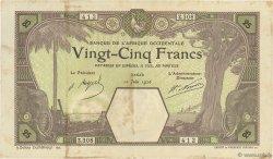 25 Francs DAKAR AFRIQUE OCCIDENTALE FRANÇAISE (1895-1958) Dakar 1926 P.07Bc TB+
