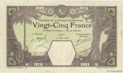 25 Francs DAKAR AFRIQUE OCCIDENTALE FRANÇAISE (1895-1958)  1926 P.07Bc TTB