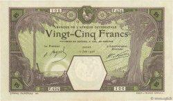 25 Francs DAKAR AFRIQUE OCCIDENTALE FRANÇAISE (1895-1958)  1926 P.07Bc TTB+