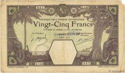 25 Francs GRAND-BASSAM AFRIQUE OCCIDENTALE FRANÇAISE (1895-1958) Conakry 1923 P.06D TB