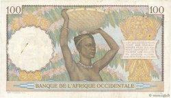 100 Francs AFRIQUE OCCIDENTALE FRANÇAISE (1895-1958)  1940 P.23 TTB