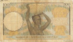 100 Francs AFRIQUE OCCIDENTALE FRANÇAISE (1895-1958)  1941 P.23 TB