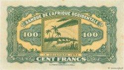 100 Francs type 1942 AFRIQUE OCCIDENTALE FRANÇAISE (1895-1958)  1942 P.31a SUP+