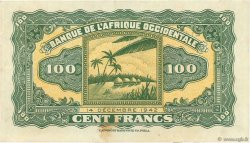 100 Francs FRENCH WEST AFRICA (1895-1958)  1942 P.31a UNC-