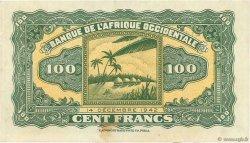 100 Francs AFRIQUE OCCIDENTALE FRANÇAISE (1895-1958)  1942 P.31a pr.NEUF