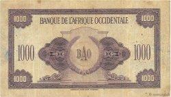 1000 Francs AFRIQUE OCCIDENTALE FRANÇAISE (1895-1958)  1942 P.32a TB