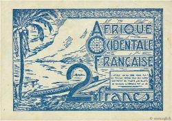 2 Francs AFRIQUE OCCIDENTALE FRANÇAISE (1895-1958)  1944 P.35 TTB+