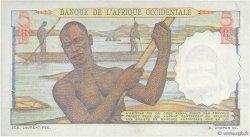 5 Francs AFRIQUE OCCIDENTALE FRANÇAISE (1895-1958)  1948 P.36 SPL