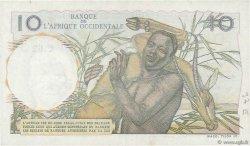 10 Francs AFRIQUE OCCIDENTALE FRANÇAISE (1895-1958)  1950 P.37 SPL
