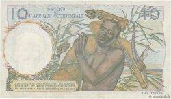 10 Francs AFRIQUE OCCIDENTALE FRANÇAISE (1895-1958)  1952 P.37 SUP+