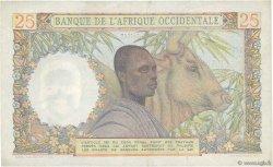 25 Francs AFRIQUE OCCIDENTALE FRANÇAISE (1895-1958)  1948 P.38 TTB