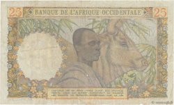 25 Francs AFRIQUE OCCIDENTALE FRANÇAISE (1895-1958)  1953 P.38 TTB