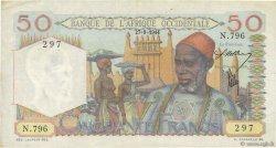 50 Francs AFRIQUE OCCIDENTALE FRANÇAISE (1895-1958)  1944 P.39 TTB+