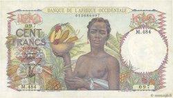 100 Francs AFRIQUE OCCIDENTALE FRANÇAISE (1895-1958)  1945 P.40 SUP+