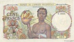 100 Francs AFRIQUE OCCIDENTALE FRANÇAISE (1895-1958)  1946 P.40 SUP+
