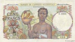 100 Francs AFRIQUE OCCIDENTALE FRANÇAISE (1895-1958)  1946 P.40 SPL