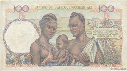 100 Francs AFRIQUE OCCIDENTALE FRANÇAISE (1895-1958)  1947 P.40 TTB+