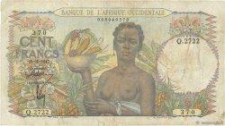 100 Francs AFRIQUE OCCIDENTALE FRANÇAISE (1895-1958)  1947 P.40 TB