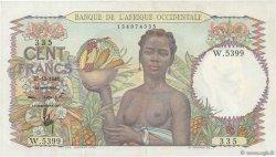 100 Francs AFRIQUE OCCIDENTALE FRANÇAISE (1895-1958)  1948 P.40 SUP
