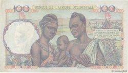 100 Francs AFRIQUE OCCIDENTALE FRANÇAISE (1895-1958)  1950 P.40 SUP+