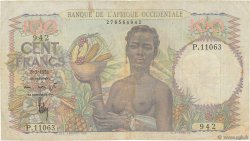 100 Francs AFRIQUE OCCIDENTALE FRANÇAISE (1895-1958)  1951 P.40 TB+