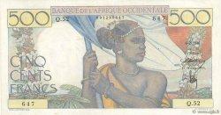 500 Francs AFRIQUE OCCIDENTALE FRANÇAISE (1895-1958)  1946 P.41 SUP