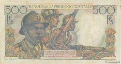 500 Francs AFRIQUE OCCIDENTALE FRANÇAISE (1895-1958)  1948 P.41 pr.TTB