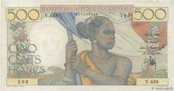 500 Francs AFRIQUE OCCIDENTALE FRANÇAISE (1895-1958)  1950 P.41 TTB+