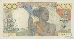500 Francs AFRIQUE OCCIDENTALE FRANÇAISE (1895-1958)  1950 P.41 SUP