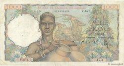 1000 Francs AFRIQUE OCCIDENTALE FRANÇAISE (1895-1958)  1948 P.42 TTB