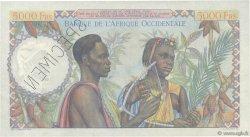5000 Francs AFRIQUE OCCIDENTALE FRANÇAISE (1895-1958)  1947 P.43s SPL
