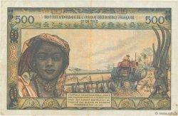 500 Francs AFRIQUE OCCIDENTALE FRANÇAISE (1895-1958)  1956 P.47 TTB