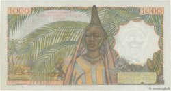 1000 Francs AFRIQUE OCCIDENTALE FRANÇAISE (1895-1958)  1955 P.48 SUP