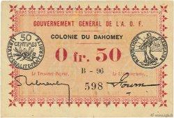 50 Centimes DAHOMEY  1917 P.01a SPL