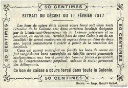 50 Centimes SÉNÉGAL  1917 P.01b SPL