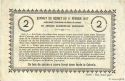 2 Francs SÉNÉGAL  1917 P.03a TTB+