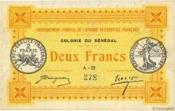 2 Francs SÉNÉGAL  1917 P.03a NEUF